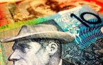 Курс австралийского доллара начал падать после скачка в ходе азиатской сессии