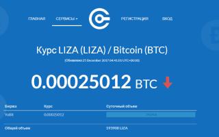 Криптовалюта Liza: попытка YOBit привлечь новый капитал