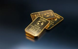 Инвесторы возобновили продажу драгметаллов, но золото все еще торгуется выше $1300