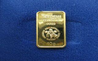 Золото прибавляет в цене на фоне слабеющего доллара