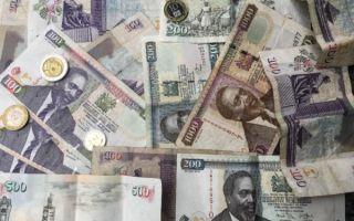Курс кенийского шиллинга в ходе торгов остался почти без изменений