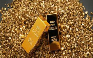 Золото упало до минимальной отметки с начала октября