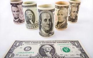 Индекс доллара продолжает падение по отношению к корзине валют