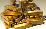 Золото торгуется в зоне падения в ходе европейской сессии