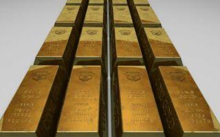 Дорожающий доллар спровоцировал обвал цен на золото