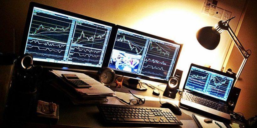 Торги на фондовом рынке