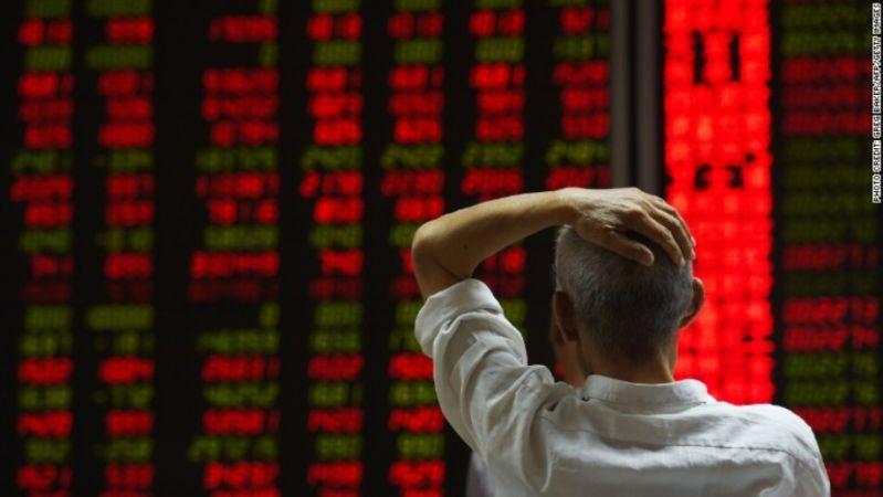 Обвал фондового рынка