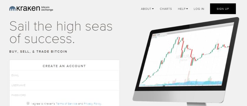 kraken биржа криптовалют