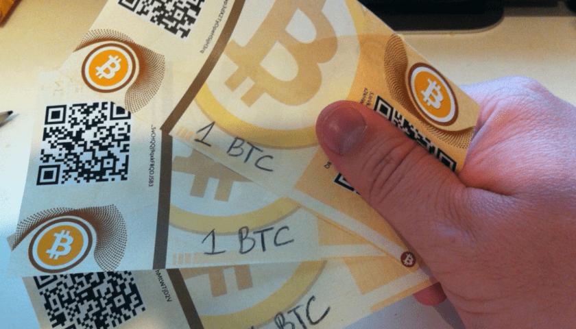 Как хранить криптовалюту на бумаге