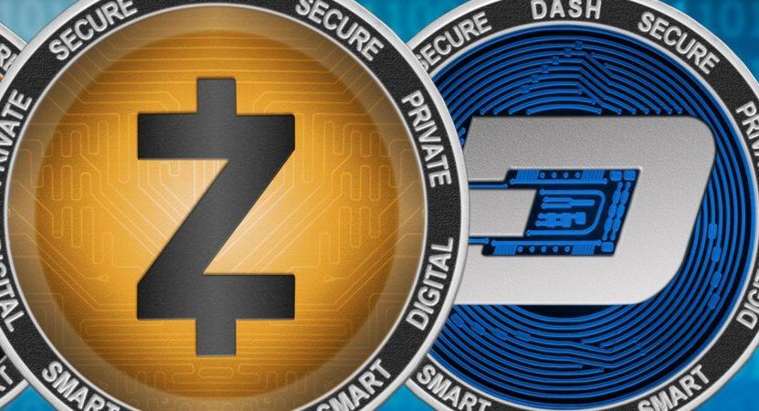 Прогноз на DASH и ZCash