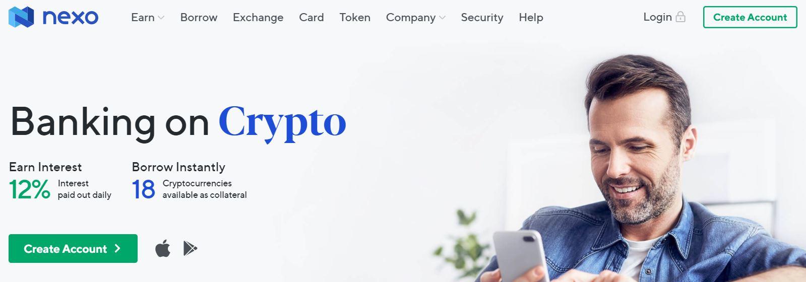 Cryptocurrency Nexo